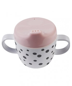 Tazza Spout con Beccuccio e Manici Happy Dots - Done by deer