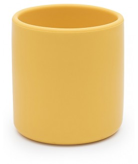 Tazza Ergonomica in Silicone 220 ml, Giallo - Senza BPA - We might be tiny