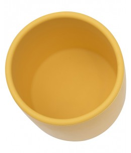 Tazza Ergonomica in Silicone 220 ml, Giallo - Senza BPA - We might be tiny