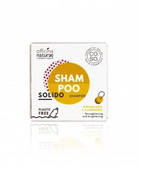 Shampoo solido rinforzante e illuminante COSO