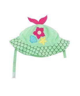 Cappello protezione solare-UV UPF 50+ Zoocchini - Sirena