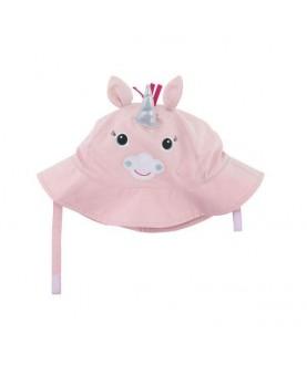 Cappello protezione solare-UV UPF 50+ Zoocchini - Unicorno