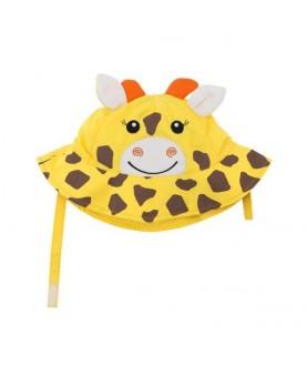Cappello protezione solare-UV UPF 50+ Zoocchini - Giraffa