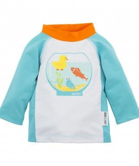 Maglietta protezione UV UPF50+ Zoocchini - Acquario