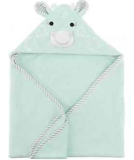 Asciugamano Baby con Cappuccio, Jamie la Giraffa - 100% cotone - Zoocchini