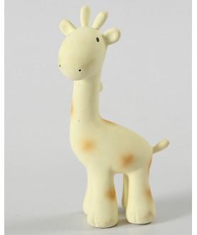 Sonaglio, Massaggiagengive, Gioco da Bagno 3-in-1 Giraffa - Tikiri