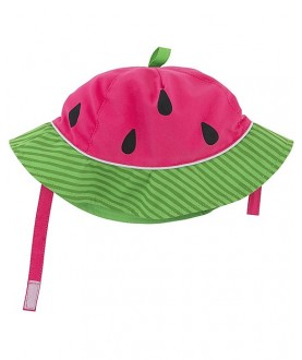 Cappello protezione solare-UV UPF 50+ Zoocchini - Cocomero