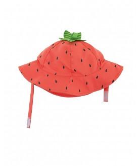 Cappello protezione solare-UV UPF 50+ Zoocchini - Fragola