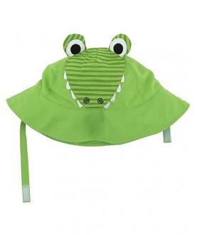 Cappello protezione solare-UV UPF 50+ Zoocchini - Coccodrillo