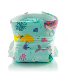Pannolino lavabile Teby Bio - Bio mermaids