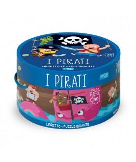 I pirati - libro + puzzle gigante