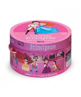 Il ballo delle principesse - libro + puzzle gigante