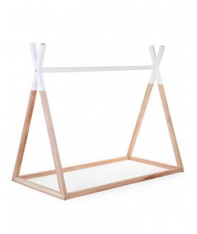 Struttura Letto Montessoriano Tipi, Legno di Faggio Massello - 140x70 cm