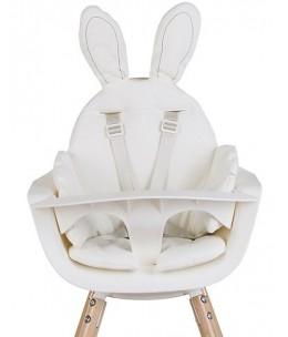 Cuscino per Seggiolone Coniglietto - Bianco