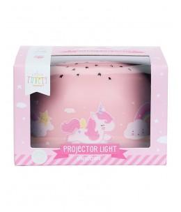 Luce LED Proiettore, Unicorno - Stelle
