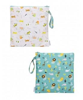 Wet bag Pochette zoo - Flapjackkids