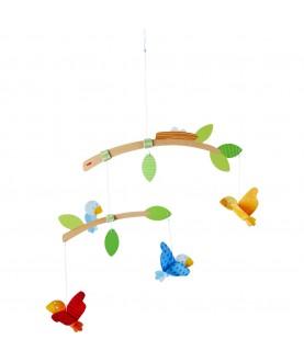 Giostrina uccellini in legno da appendere - Haba