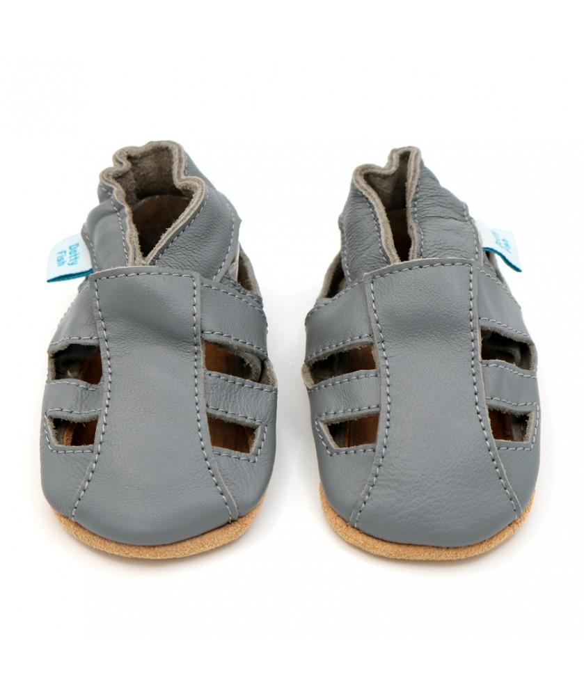 Babbucce Dotty Fish - Grey Sandals