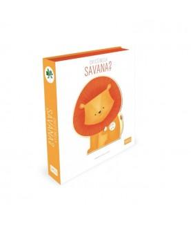 Chi c'è nella savana? - Libro illustrato con suoni - Sassi Junior