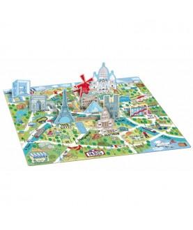 Viaggia,conosci,esplora Parigi - Puzzle 3D - Sassi Junior