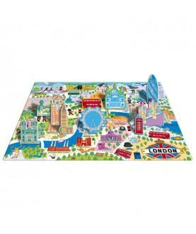 Viaggia,conosci,esplora Londra - Puzzle 3D - Sassi Junior