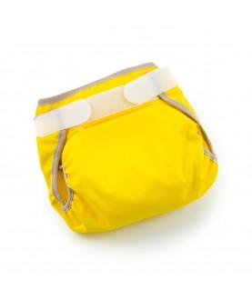 Cover per pannolini lavabili fitted teby - Gialla