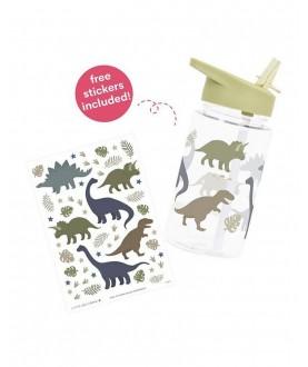 Borraccia da decorare con sticker Dinosauri- A little love company