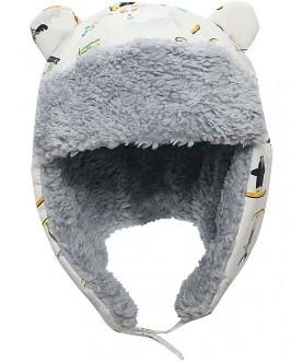 Cappello invernale reversibile Aviatore Ski resort - Flapjackkids