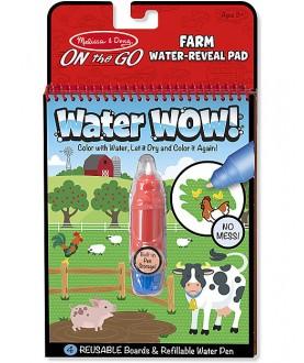 Water wow album da colorare con penna acqua fattoria - Melissa & Doug
