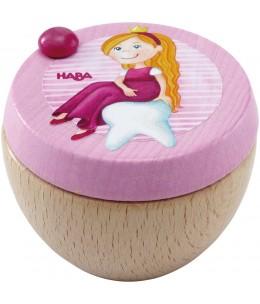 Scatola porta dentino Principessa in legno - Haba